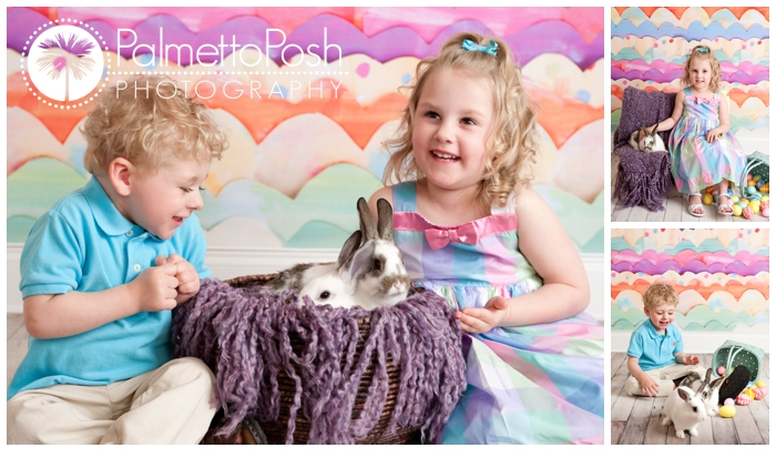 sibling easter photos