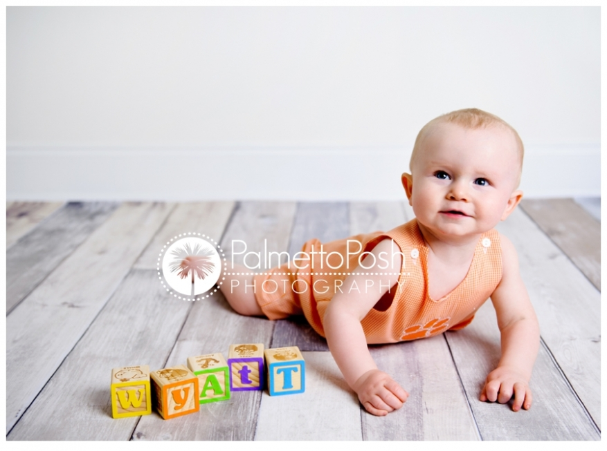 1 year old session greenwood sc photographer