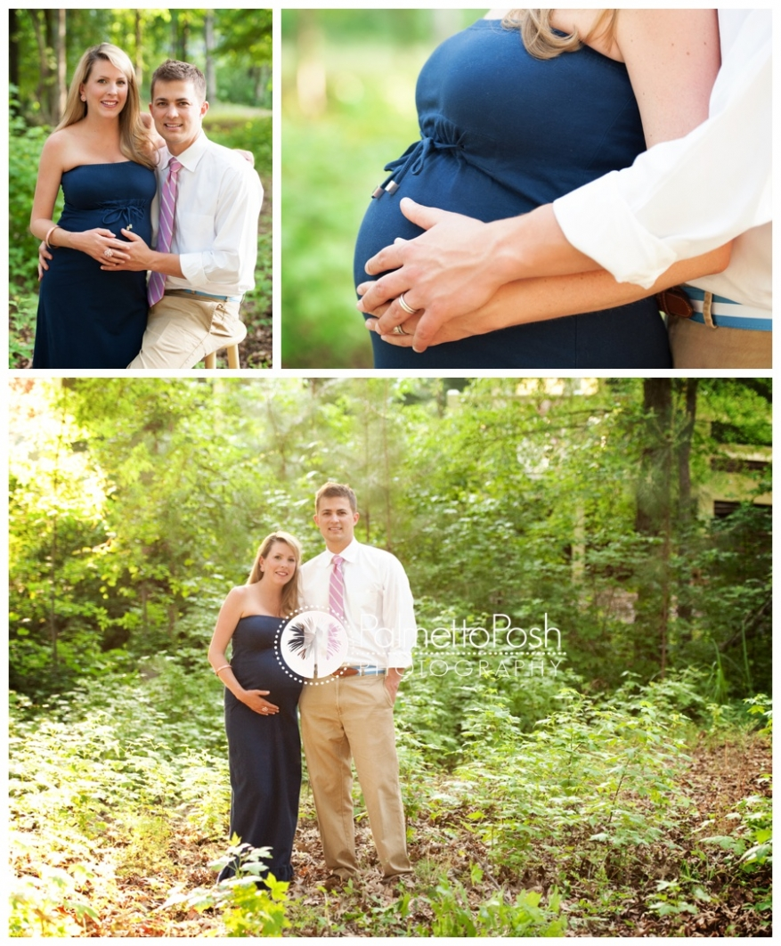 maternity photographs | palmetto posh photography, greenwood sc