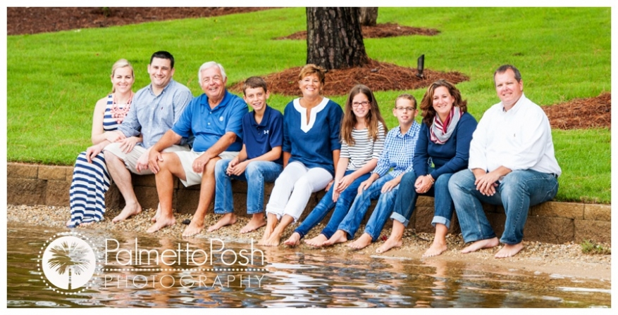 extended family session | palmetto posh photography | greenwood, sc