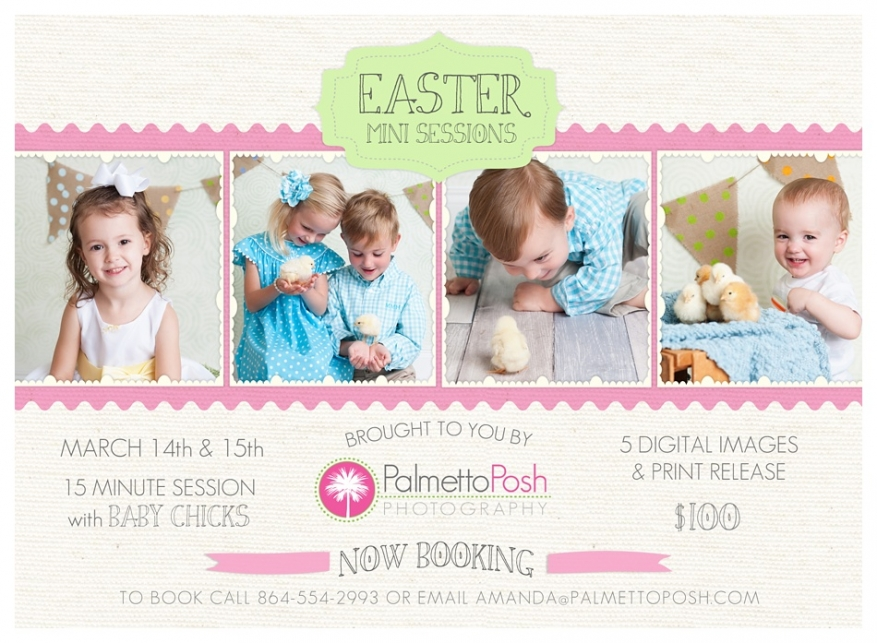 easter mini session photographer, greenwood sc, palmetto posh photography by amanda breeden