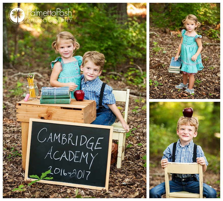 Back to School Sessions, Palmetto Posh Photography