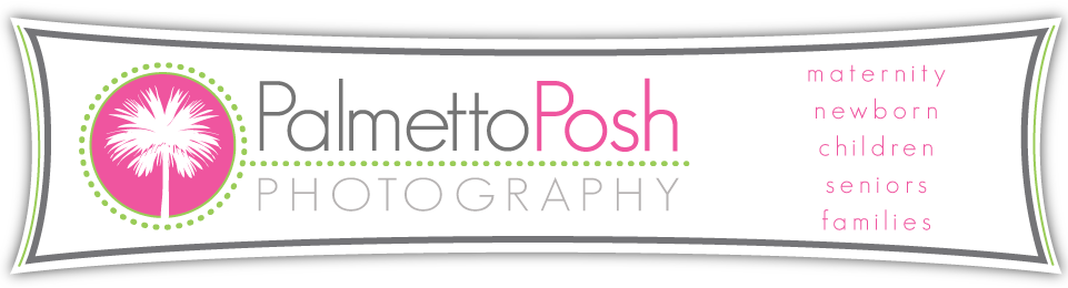 Greenwood, SC Photographer Amanda Breeden, Palmetto Posh Photography logo